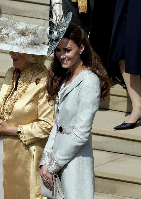 Vždy krásná princezna Catherine.