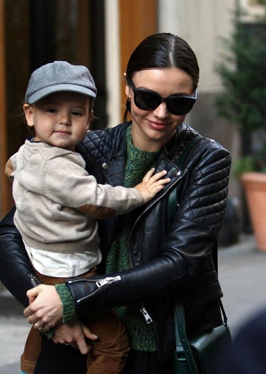 Miranda se synem Flynnem.
