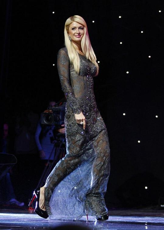 Paris Hilton v Kyjevě.