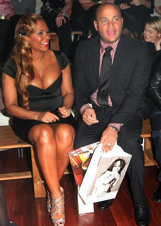 Mel B s manželem Stephenem.