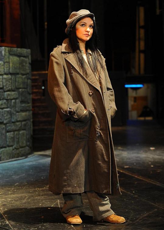 Magda v muzikálu Bídníci.