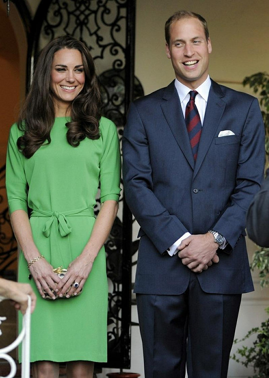 Kate a princ William.