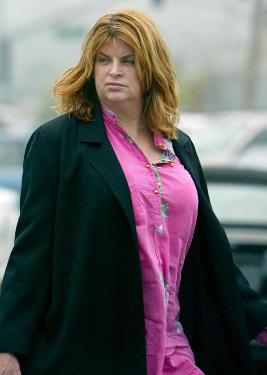 Kirstie měla ještě před několika lety velikou nadváhu.