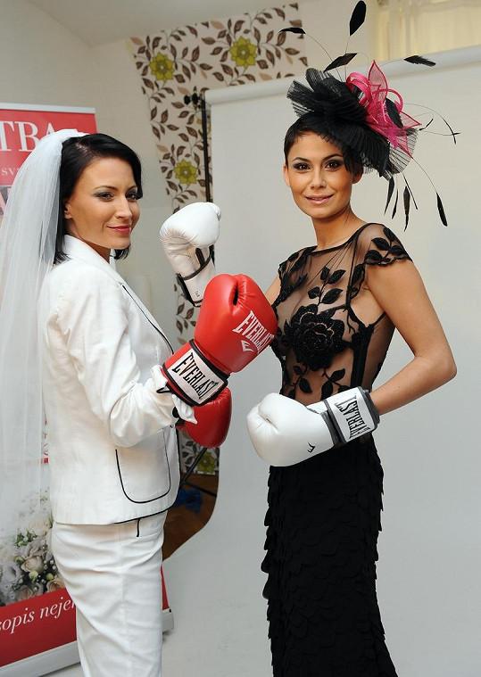 Partyšová a Erbová součástí projektu Souboj nevěst.