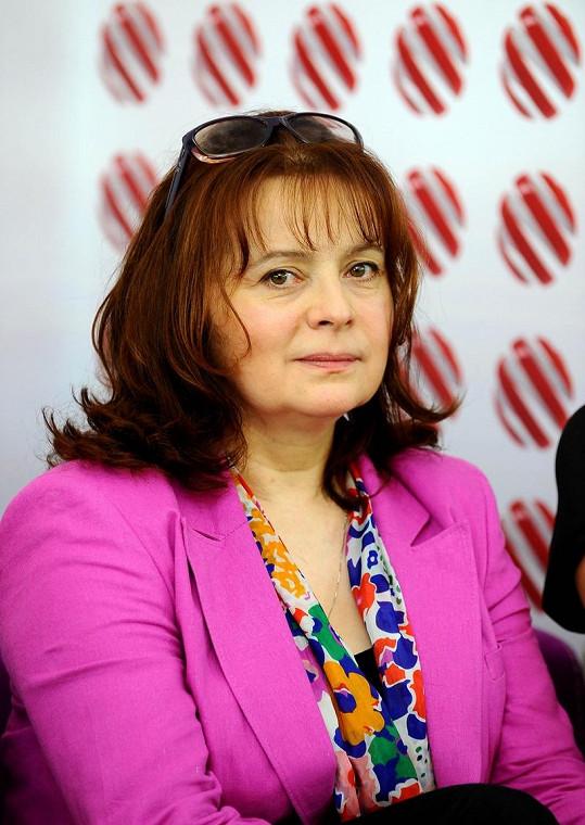 Libuše Šafránková ztratila kvůli chřipce hlas.
