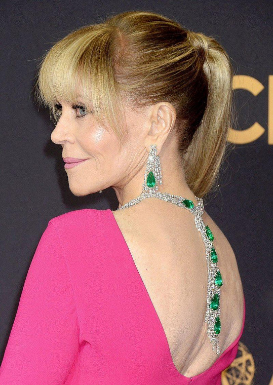 Takto náhrdelník z této kolekce vynesla Jane Fonda.