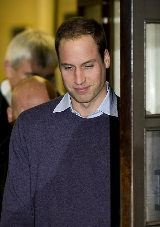 William se na potomka jistě už velmi těší.