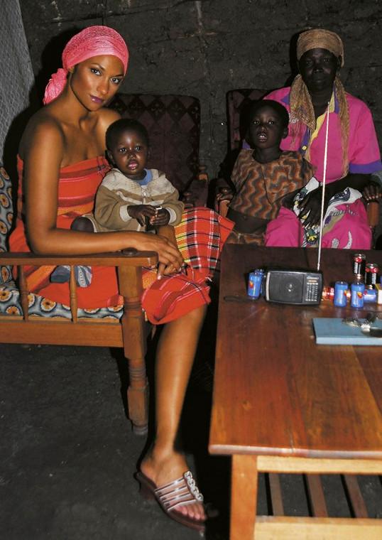 Africké nahé obrázky