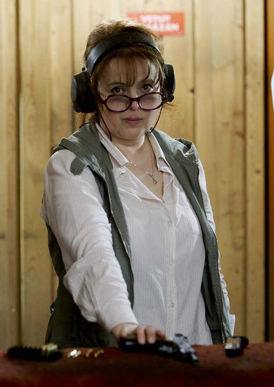 Libuše Šafránková si zahraje učitelku.