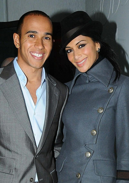 Lewis Hamilton a Nicole Scherzinger.