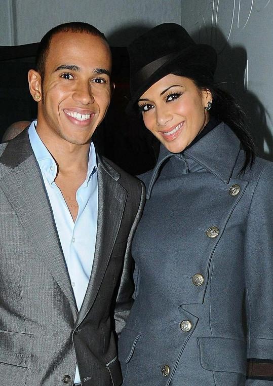 Nicole Scherzinger a Lewis Hamilton v době, kdy byli ještě zamilovaní.