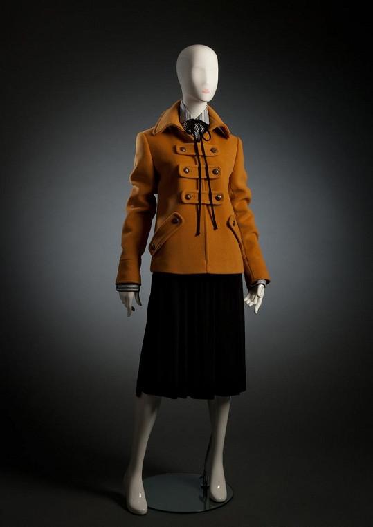 Podzimní kabátek.