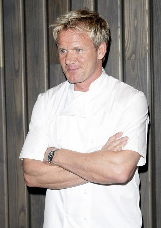 Šéfkuchař Gordon Ramsay.
