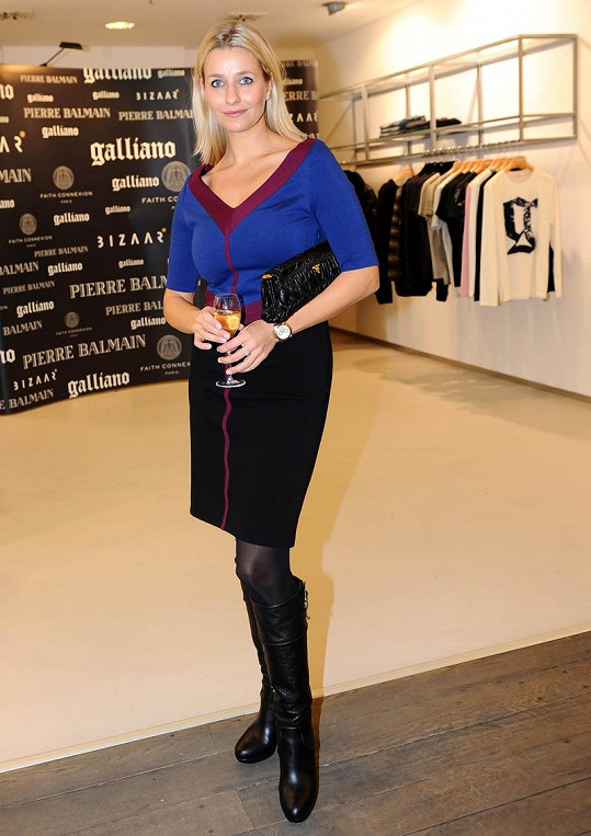 Kristina Fridvalská má skvělou postavu.