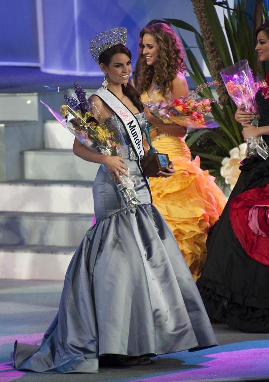 Cynthia získala loni v září titul Miss World Mexiko.