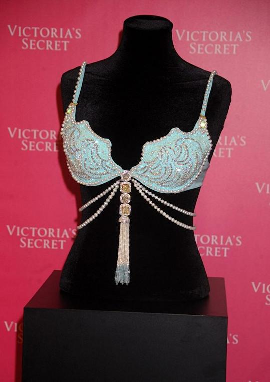 Podprsenka Treasure Fantasy Bra od Victoria's Secret za 45 miliónů korun.