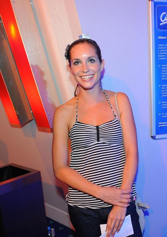 Hana Vagnerová v kině.