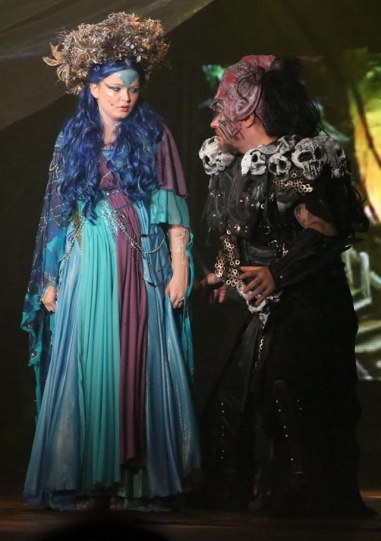 V roli královny skřítků na premiéře vystoupila Berenika Suchánková.