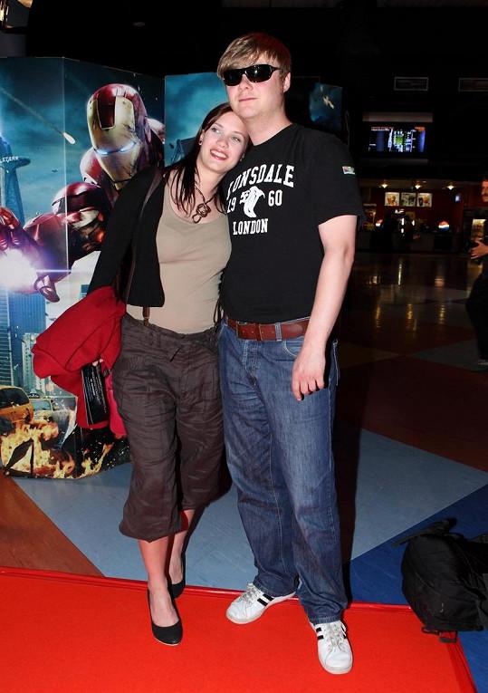 Kristýna Leichtová a její současný přítel Filip Kaňkovský.