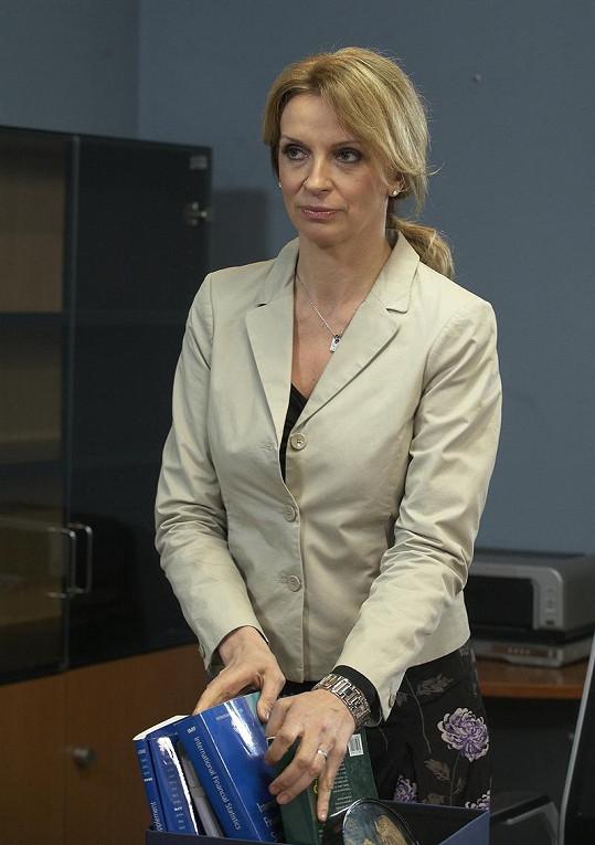 Ivana Chýlková ve své nové roli.