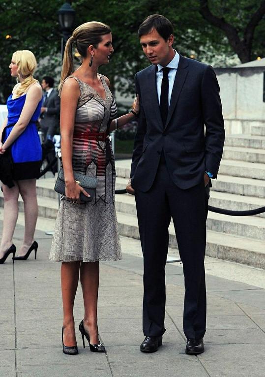 Ivanka s manželem Jaredem Kushnerem.