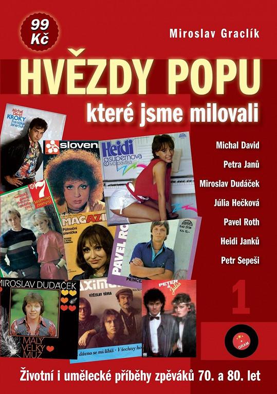 Obálka knihy Hvězdy popu, které jsme milovali.