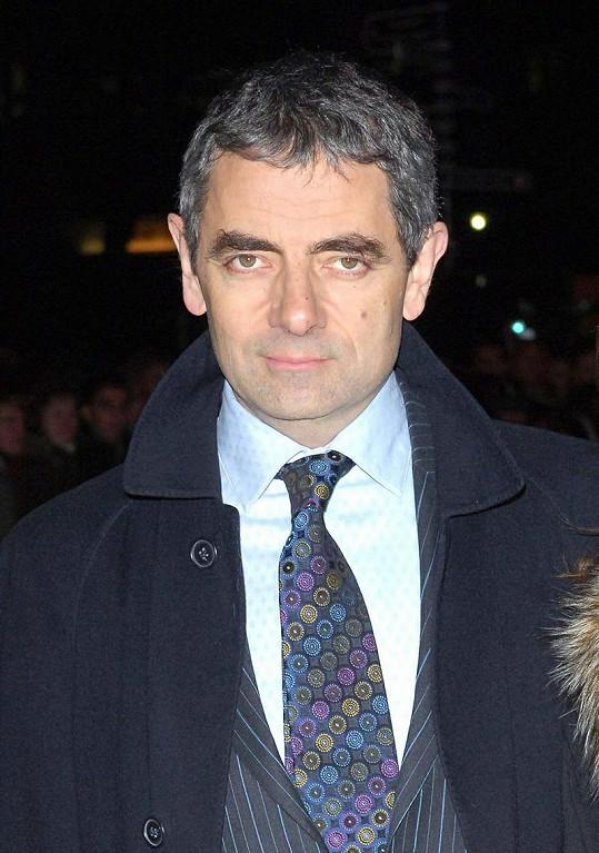 Herec Rowan Atkinson už šediví.