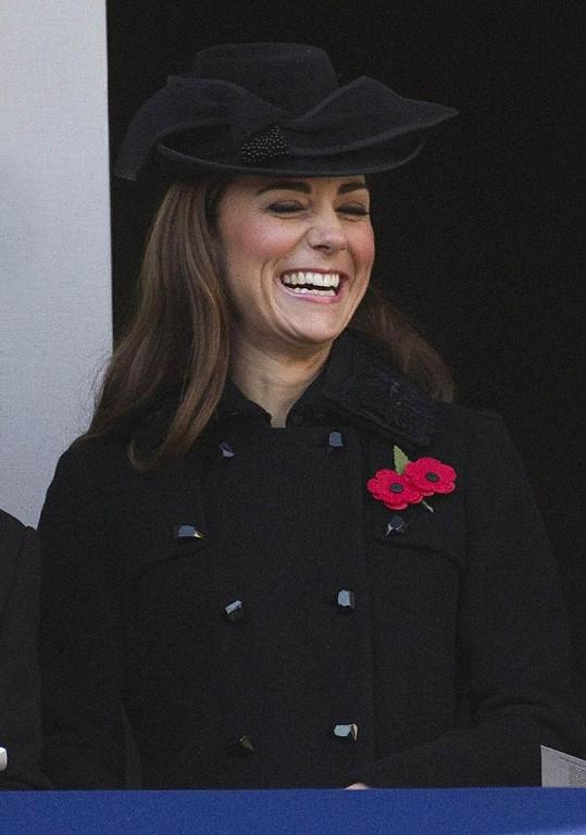 Princezna Kate měla evidetně během události dobrou náladu.