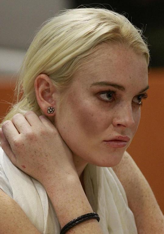 Lindsay Lohan nebyla ve své kůži.