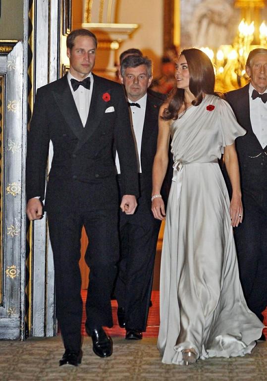 Princ William a jeho žena Catherine.