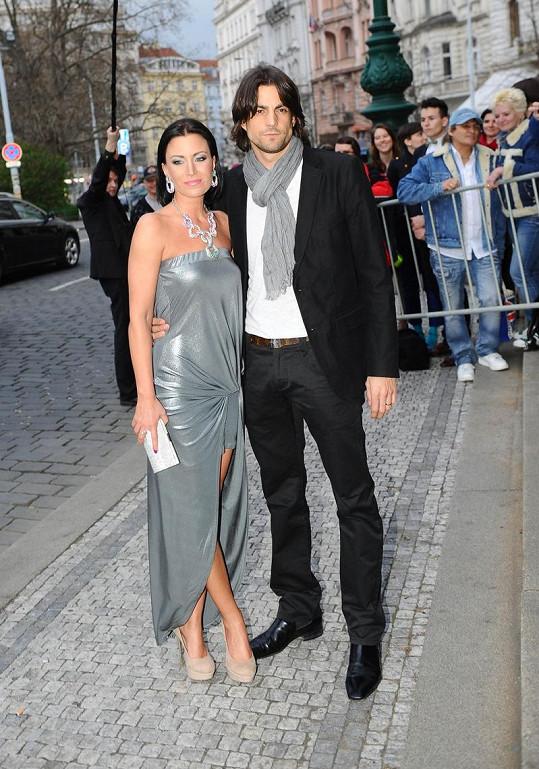 Gábina Partyšová se zapletla s fotografem Danielem Zahrádkou.
