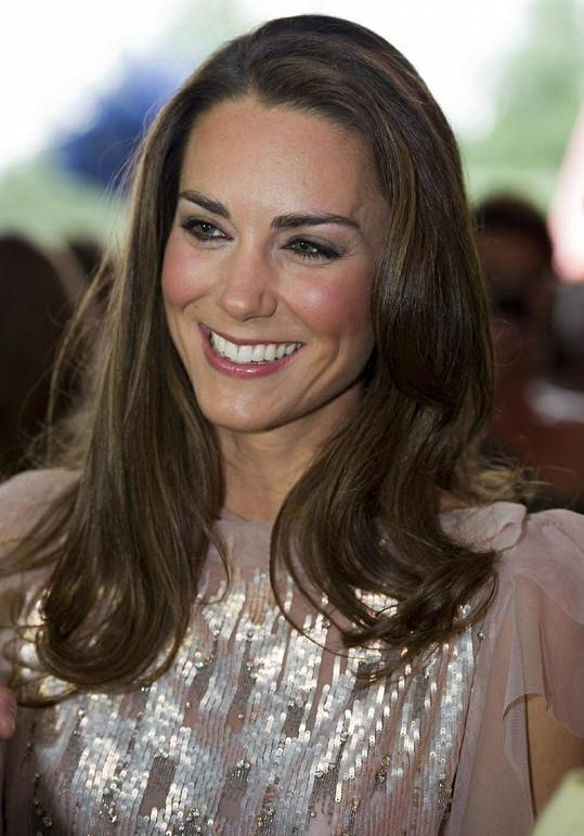 Usměvavé Kate to moc slušelo.