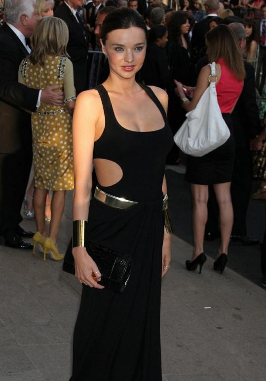 Jedna z nejkrásnějších modelek Miranda Kerr.