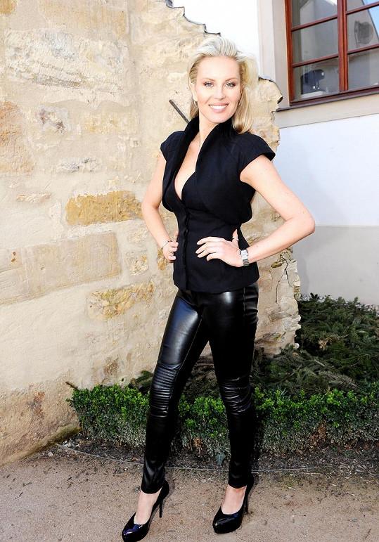 Simona Krainová je tváří připravovaného Prague fashion weekendu.