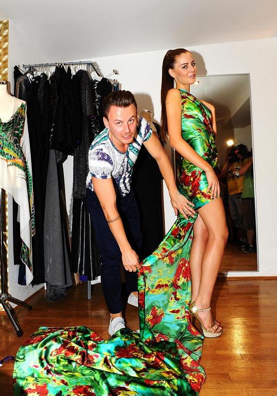 Lindner bude pro Chlebovskou na Miss Universe připravovat patnáct šatů.