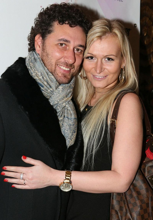 Domenico Martucci s expřítelkyní Evou.