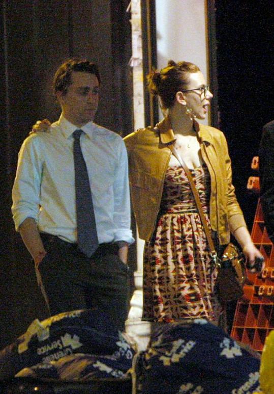Scarlett Johansson s Kieranem Culkinem v Paříži.
