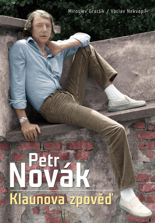 Obálka knihy o Petru Novákovi.