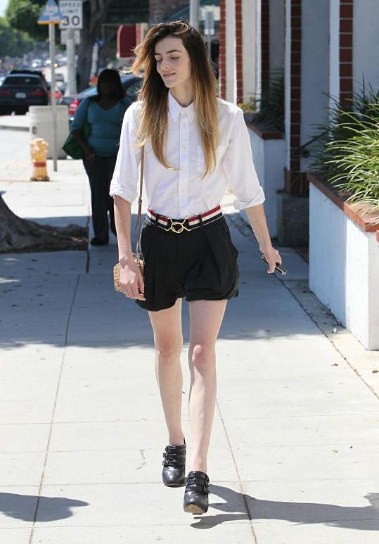 Mladší sestra známé herečky je modelkou.