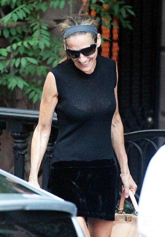 Sarah Jessica Parker v New Yorku.
