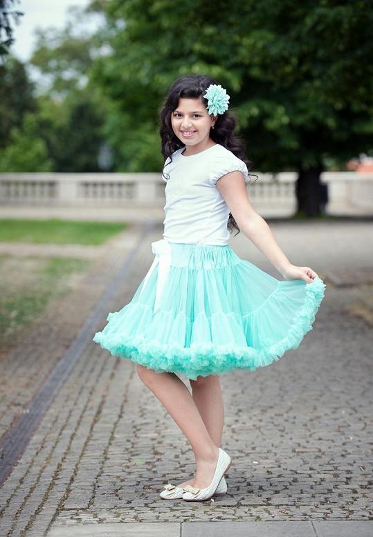 Dianka Kalashová bude jednou velmi krásnou ženou.