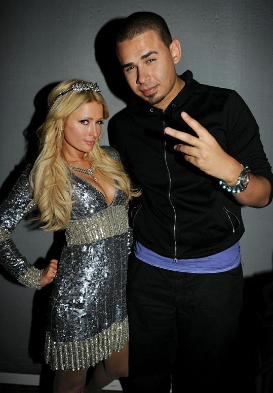 Paris Hilton a DJ Afrojack.