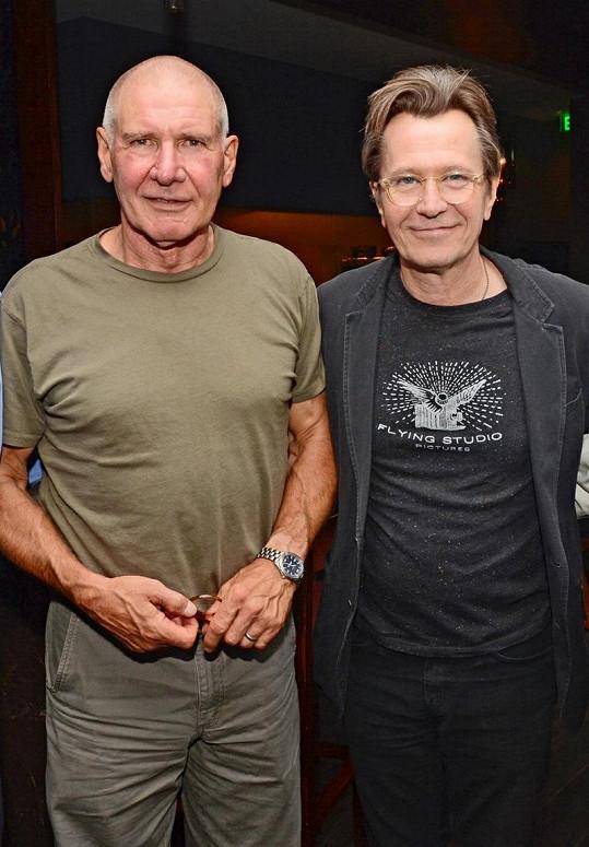Harrison Ford s Gary Oldmanem v polovině srpna.