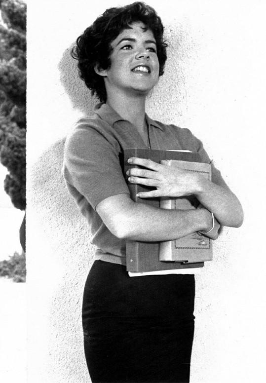 Herečka jako Betty Rizzo v Pomádě z roku 1978.