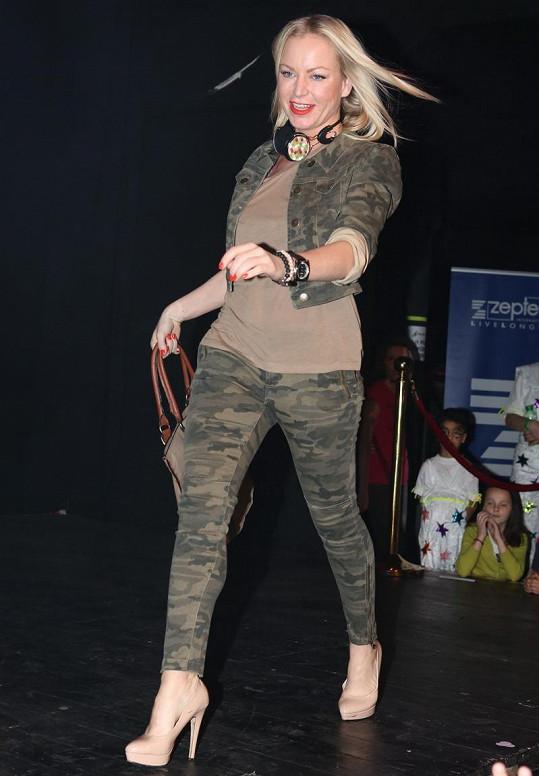 Martina Pártlová si poprvé v životě užila roli modelky.
