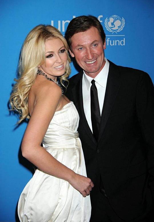 Paulina Gretzky a Wayne Gretzky.