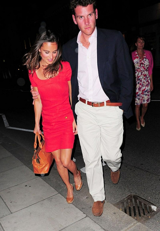 Pippa Middleton a Alex Loudon.