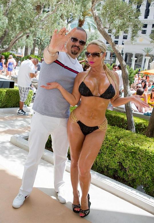 Coco se svým manželem, rapperem Ice-T.
