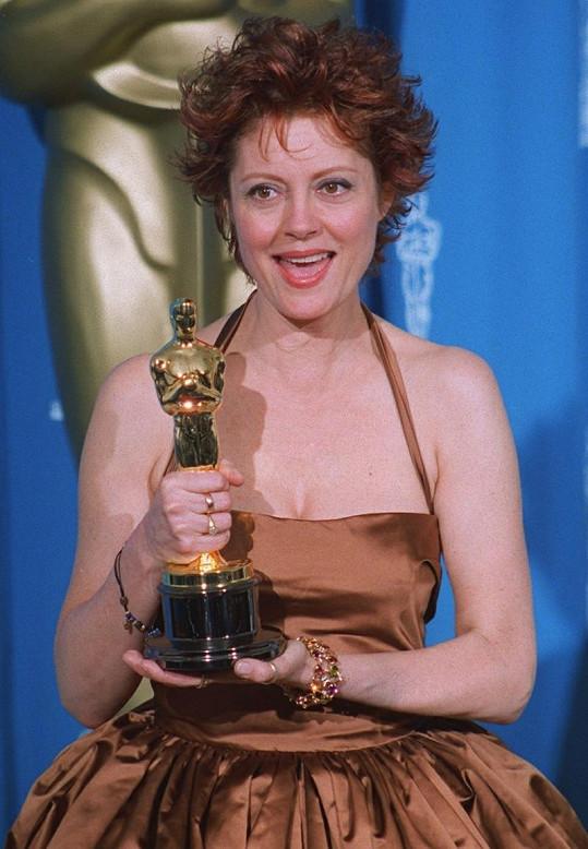Susan Sarandon je držitelkou Oscara.