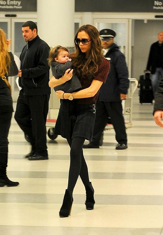 Holky Beckhamovy vyrazily do New Yorku na Fashion Week.